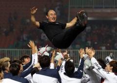 Sukses Korea dan Pesta Sepak bola Asian Games