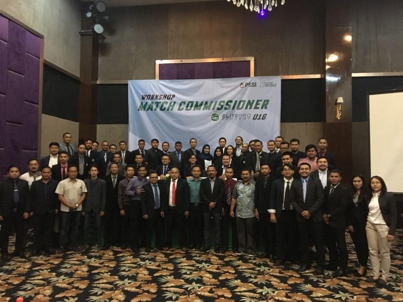 PSSI Gelar Workshop Perangkat Pertandingan