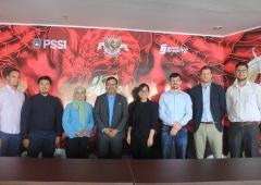 PSSI Menerima Delegasi FIFA dan AFC