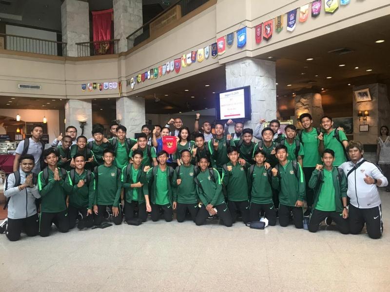 Timnas U-15 Bertolak ke Myanmar