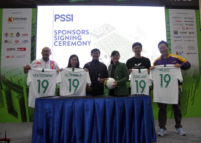 PSSI Gandeng Sponsor Baru Untuk Timnas Indonesia