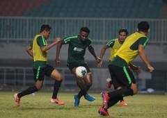 Osas Saha Gembira Jalani Debut Latihan di Timnas Indonesia