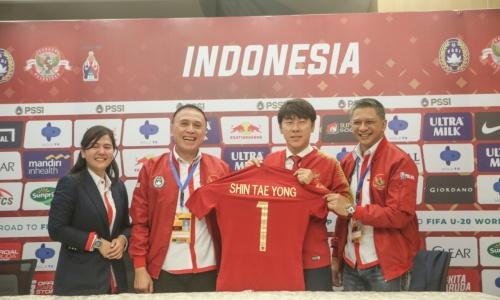 Shin Tae-yong Resmi Menjadi Pelatih Timnas Indonesia