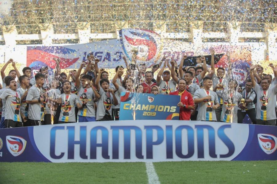 Persijap Raih Juara Liga 3 2019