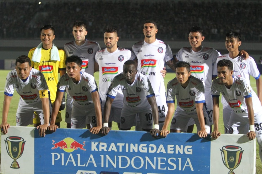 Arema FC Melaju Ke Babak 16 Besar
