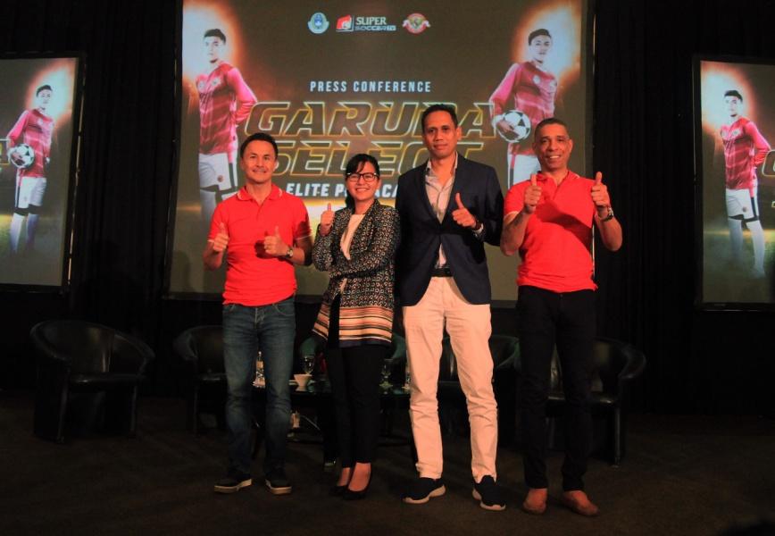 Program Garuda Select Diikuti 24 Pemain ke Inggris