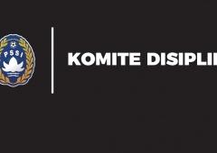 Hasil Sidang Komdis PSSI, 5 Juli 2019