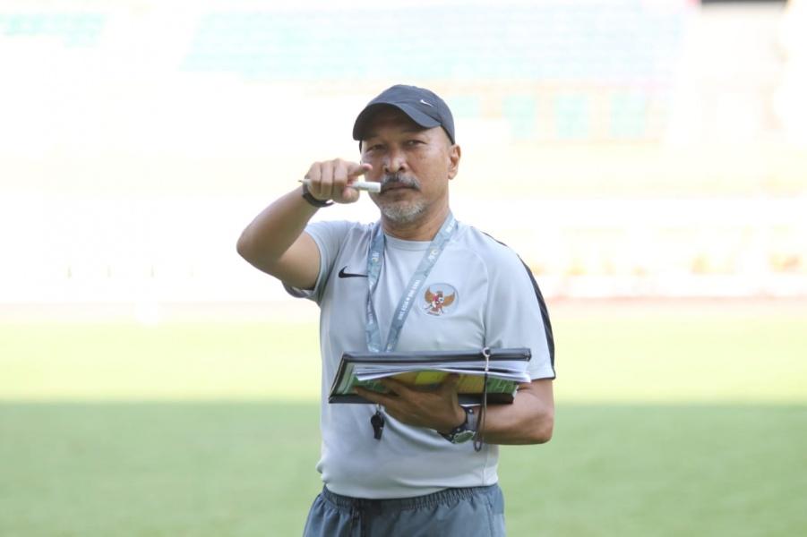 Latihan Perdana Seleksi Tahap Kedua Timnas U-19