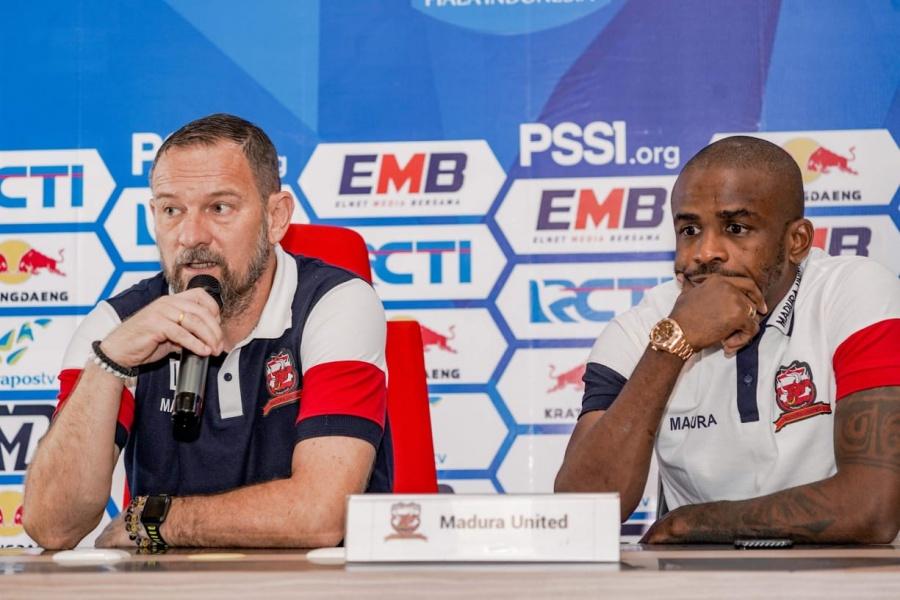 Madura United Ingin Putus Rekor Buruk di GBT