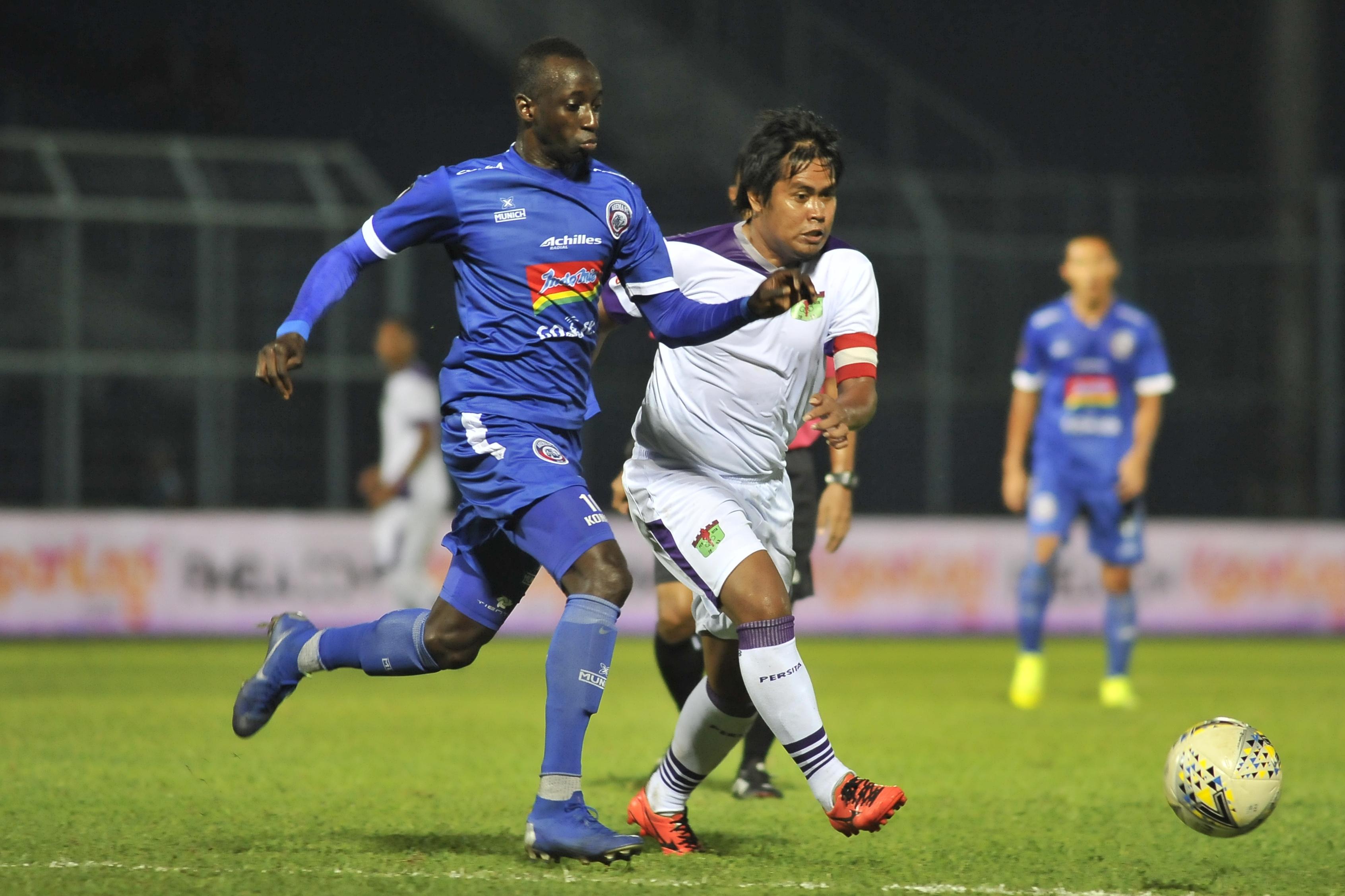 Arema FC Permak Persita Tangerang