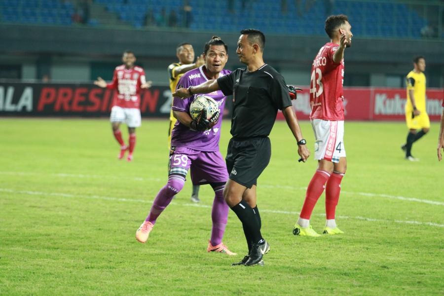 Bali United Kalah karena Hilang Konsentrasi
