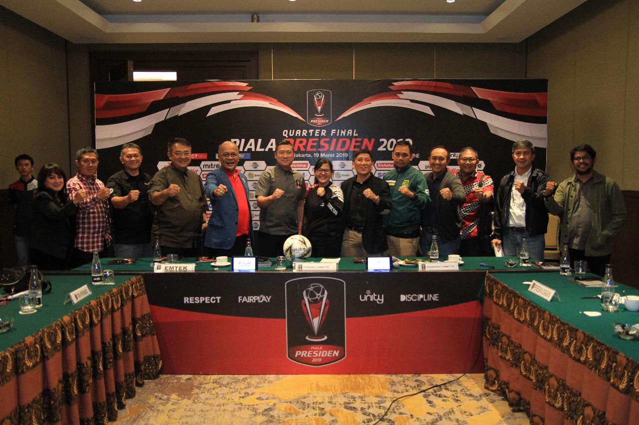Jadwal Pertandingan Babak 8 Besar Piala Presiden 2019