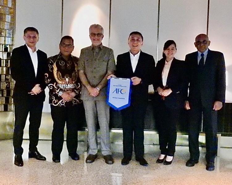 Ketum PSSI Bertemu Presiden AFC di Kuala Lumpur
