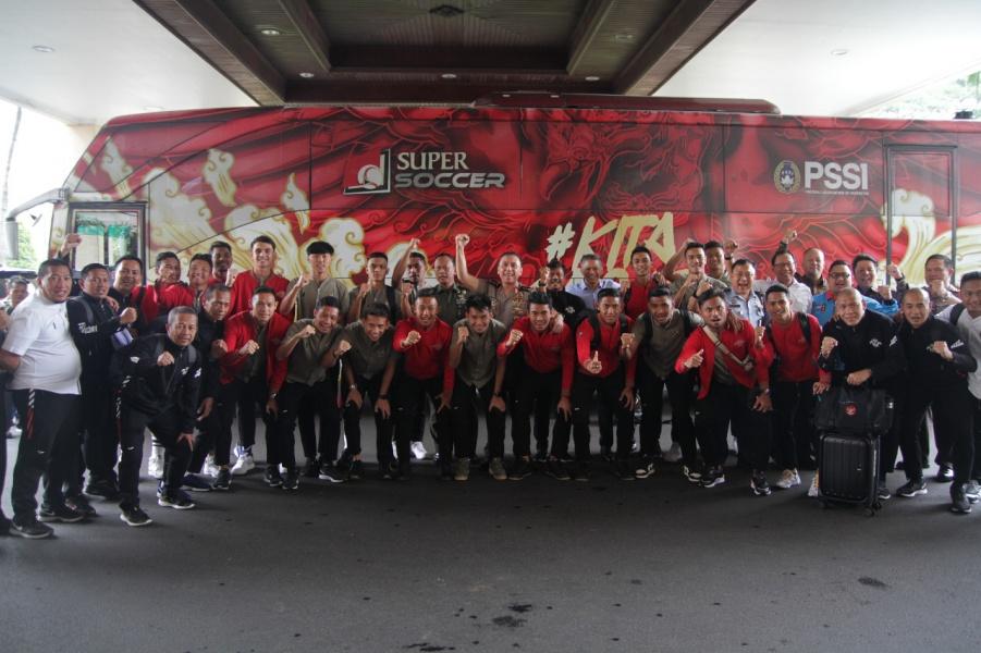 Ketum PSSI Lepas Timnas U23