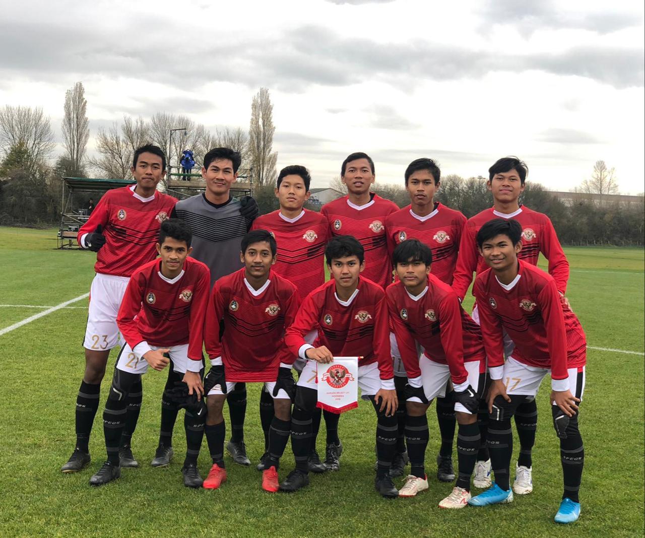 Lawan Gillingham FC, Garuda Select Adaptasi Banyak Situasi