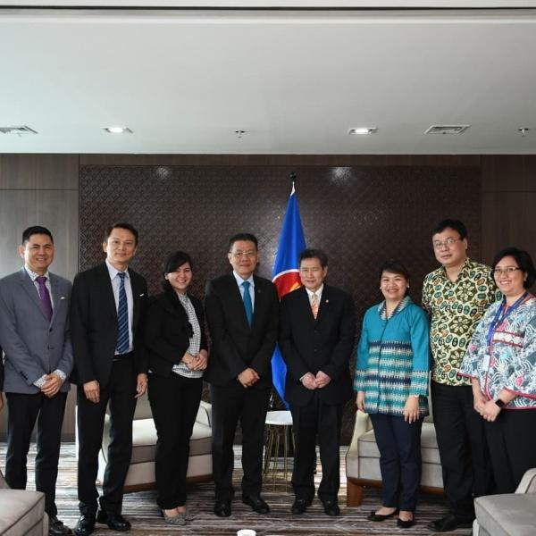 AFF bertemu Sekretariat ASEAN, demi Piala Dunia 2034