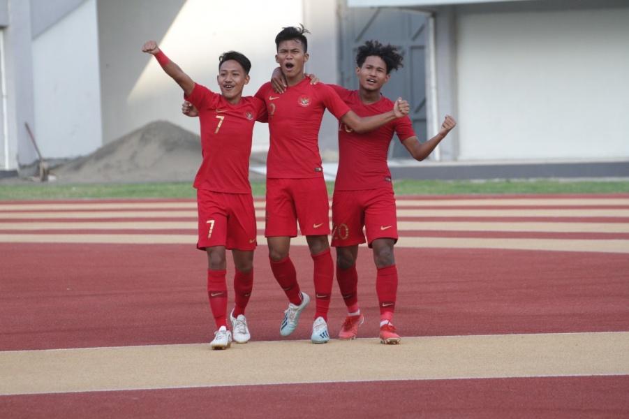 Gol Tunggal Zico Menangkan Indonesia U19
