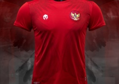 Jersey Home Timnas Indonesia Diluncurkan