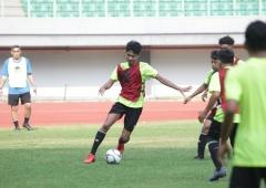 Timnas U-16 Jalani Latihan Perdana di TC Agustus
