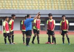 Uji Coba Minggu Pertama Timnas U-16 di TC Agustus