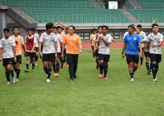 Ketum PSSI Bangun Suasana Kekeluargaan di TC Timnas U-16