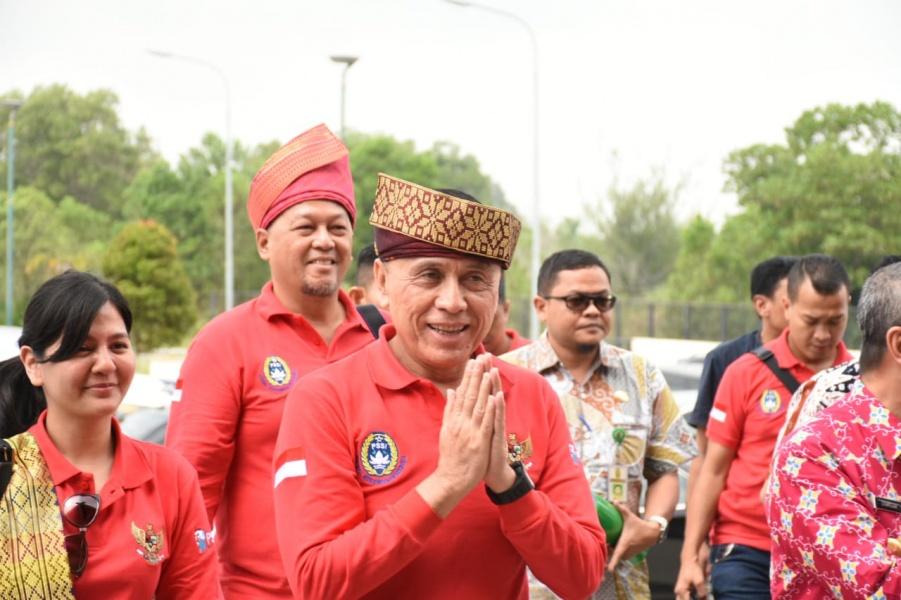 PSSI Tinjau Fasilitas Sepak bola Di Riau