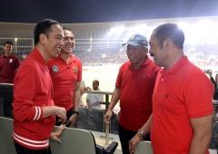 Ketum PSSI Hadiri Peresmian Renovasi Stadion Manahan Solo