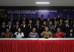 Ketum PSSI Buka Seleksi dan Workshop Wasit Liga 1 2020