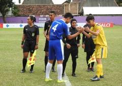 Dua Tim Bermain Imbang di Piala Soeratin U15