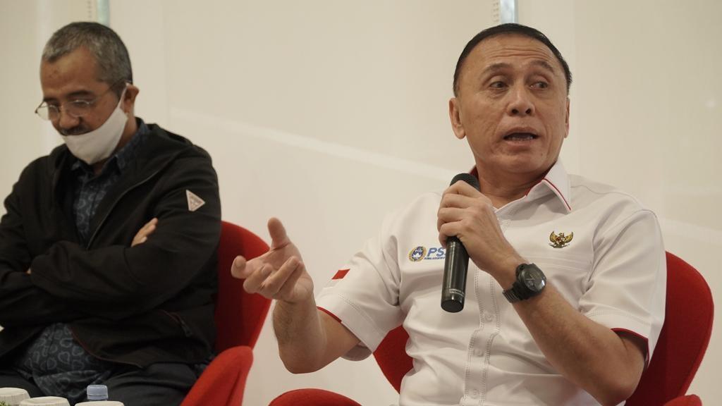 Berkunjung ke Kompas, Ketua Umum PSSI Apresiasi Dukungan Media