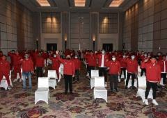 Ketum PSSI Berikan Motivasi kepada Pemain Timnas Indonesia