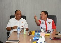 PSSI Apresiasi Komitmen dan Dukungan KONI Untuk Sepak bola Indonesia