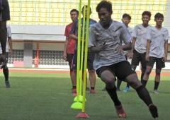 Test Fisik di TC Perdana Timnas U16