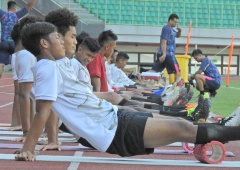 Pemusatan Latihan Timnas U16 Ala Bima Sakti