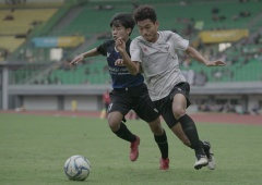 Uji Coba Pertama Timnas U16 di TC Bekasi Berakhir Imbang