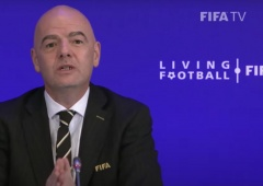 Presiden FIFA Ikut Berduka Meninggalnya Ricky Yakobi