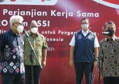 PSSI Kerja Sama dengan PT Jakpro