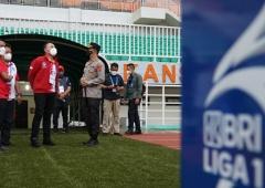 Prokes BRI Liga 1 2021-2022 Konsisten Ketat