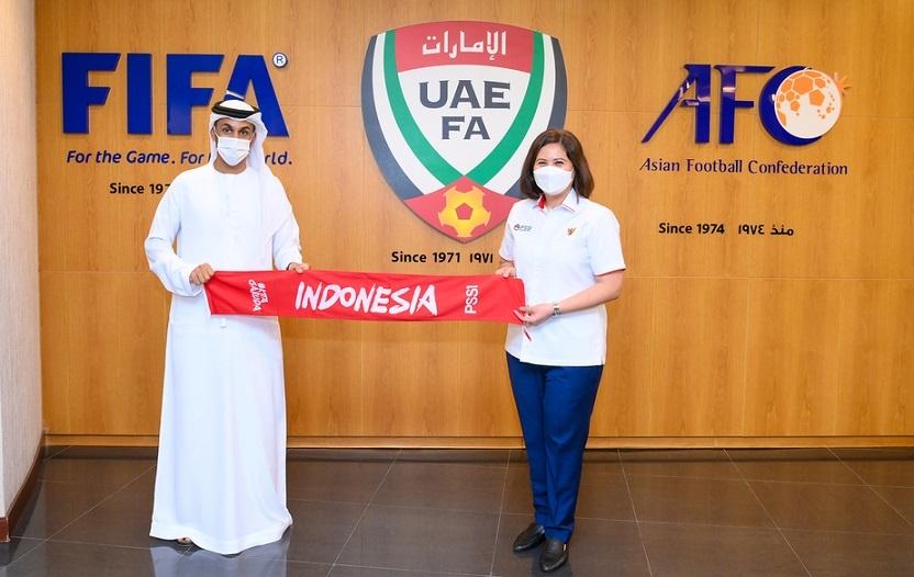 PSSI dan UAE FA Sepakat untuk Kerja Sama Pengembangan Sepak Bola