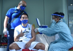 PSSI Tuntaskan Pemberian Vaksin kepada Peserta Piala Menpora 2021