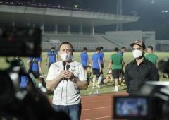 Ketum PSSI Terus Motivasi Pemain Timnas Indonesia