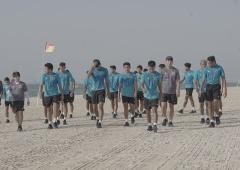 Timnas Indonesia Jalani Latihan Ringan